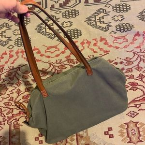 Street Level olive green tote purse